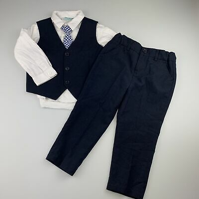 Boys size 2, Brooklyn Industries, 4-piece formal outfit, GUC