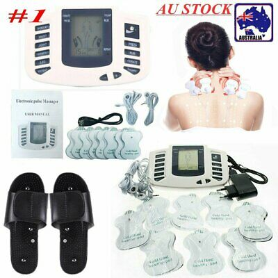 Electrical Muscle Full Body Relax Tens Acupuncture Stimulator Massager Machine