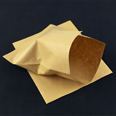 Kraft Paper Oilproof Packaging Bags Brown Chips Sandwich Bread Hot Dog Package