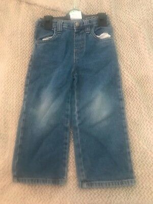 Sainsburys boys blue jeans age 3-4 vgc used