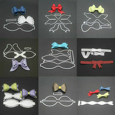 Metal Die Cuts Bow Knot Cutting Dies DIY Scrapbooking Stencil Children Gift