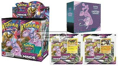 Pokemon - TCG - Unified Minds Booster Box Bundle #1 PREORDER