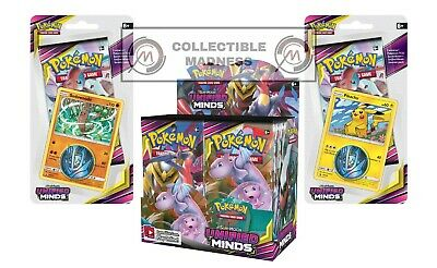 Pokemon - TCG - Unified Minds Booster Box Bundle #8 PREORDER