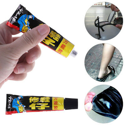 Super Adhesive Repair Adhesive for Shoe Leather Rubber Canvas Tube 18ml Hot