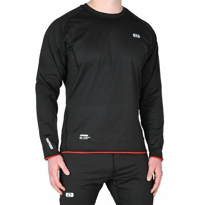 Oxford Thermal Warm Dry Motorcycle Base Layer Motorbike Under Top Sports Shirt