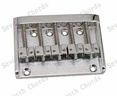 Vintage 5 String Electric Bass Bridge For Schecter,Ibanez,Yamaha,ESP,Washburn