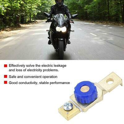 Motorcycle Battery Power Off Switch Link Terminal Disconnect Master Isolator SS