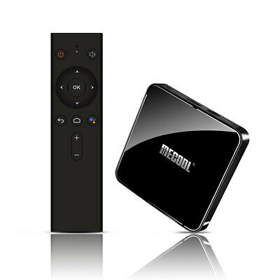 MECOOL KM3 Smart Android9 TV Box Player 4+64GB Wifi BT4.0 Controllo Vocale V5D5