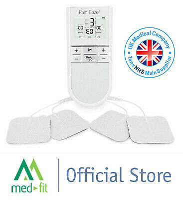 Med-Fit Pain-Eeze+ Dual Channel TENS with 5 Modes for Pain Relief *VAT FREE*