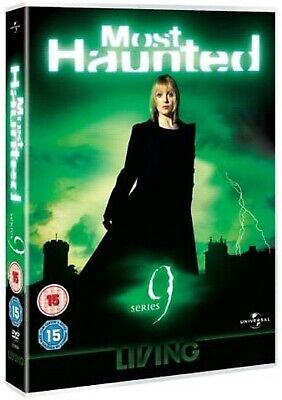 MOST HAUNTED COMPLETE SERIES 9 DVD 9th Ninth Season Nine UK Release Brand NEW R2