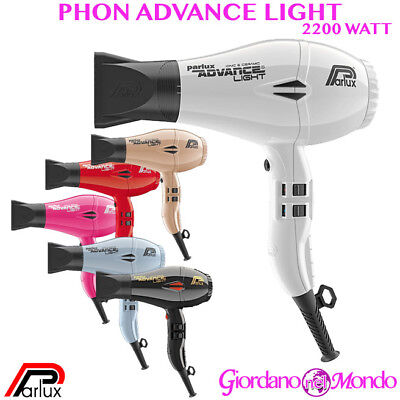 Phon Professionale Parlux Advance Light Asciugacapelli 2200W Per Parrucchiere