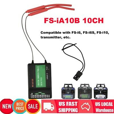 FLYSKY FS-I6S 10CH 2 4G RC Transmitter with FS-iA6B RX for