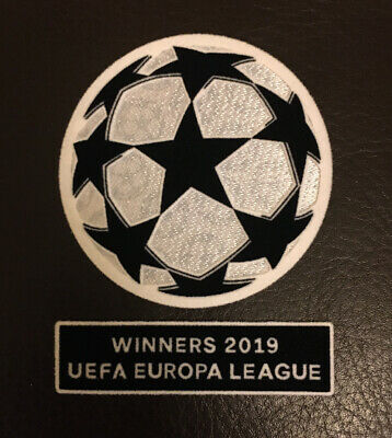 2019 Chelsea Europa League Champions Soccer Badge Patch