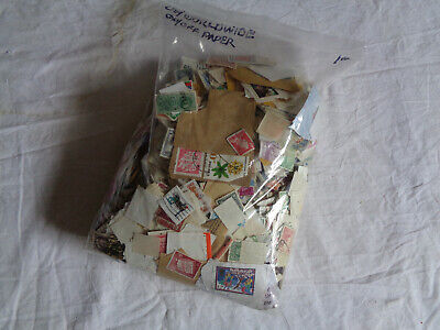 Worldwide and US On/Off Paper 1 Pound Mixture, Collections, Lots