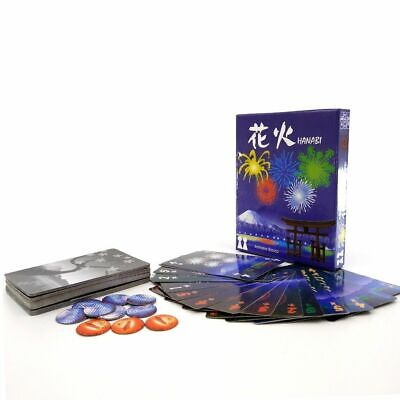 Hanabi Fireworks Family Card Game Party Board Co-operative Kids Adult Fun