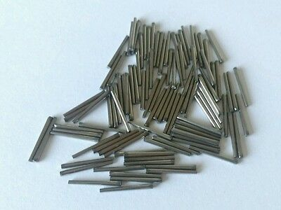 Clock Pins Steel 9 15mm  X100 Pack