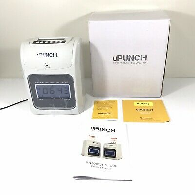 upunch time clock manual
