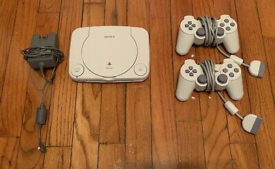 Sony Playstation PS One PS1 Console SCPH-101 w/ 2 Controllers [CLEAN]