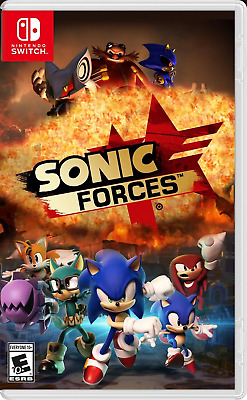 Sonic Forces (Nintendo Switch, 2017) Brand New - Region Free