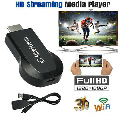 MiraScreen WiFi Display Receiver DLNA Airplay Miracast TV Dongle HDMI 1080P