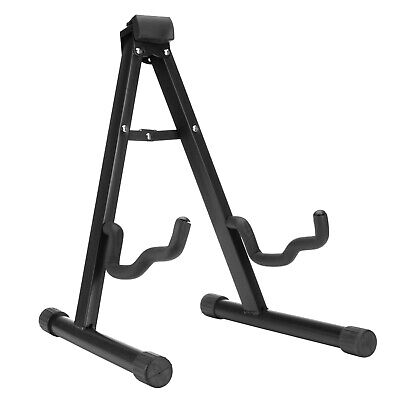 Guitar Stand Holder Folding A Frame Rack Universal Fits Electric Acoustic Bass