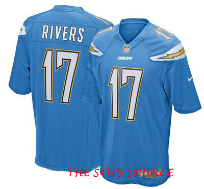 Nike Los Angeles Chargers #17 Phillip Rivers NFL On Field Game Jersey XXL BWNT