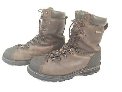 41a4dbd5852 CABELAS MEN'S BROWN Leather Gore-tex Lined Hunting/Work Boots Lace ...