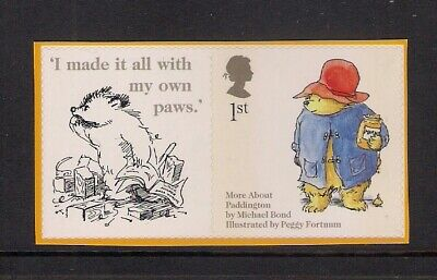GB 2006 LS28 Paddington Bear Smiler Sheet Single Stamp With Label Litho s/a MNH