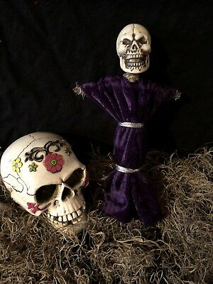 Authentic Voodoo Doll Purple-With Pins
