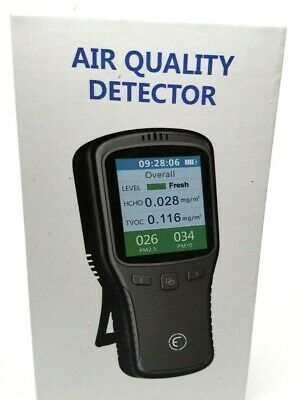 Air Quality Pollution Monitor, Detector, Meter, Sensor, Tester; Detect PM2.5