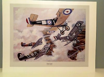 Don Connolly - The First Team - Hurricane Aviation Art