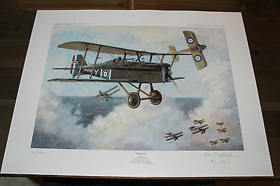 Don Connolly - Top Cover - Aviation Art - SE5a SIGNED