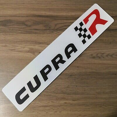 Seat Leon Cupra R Dealership Style Show Number Plate.