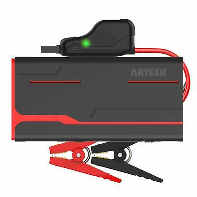 Arteck 900A Peak Car Jump Starter (Up To 7.0L Gas Or 6.5L Diesel) Auto Battery B