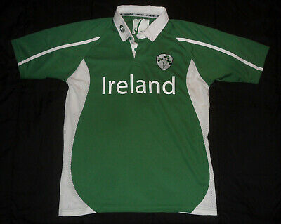 promo code 24d95 744d1 NWOT IRELAND IRISH RUGBY National Team IRFU #32 Short Sleeve Polo Shirt  Jersey S