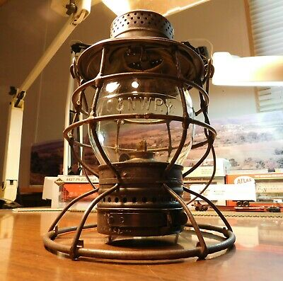 Chicago & North Western Railway Lantern The Adams & Westlake Company C&Nwrr 1895