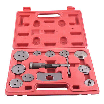 Disc Brake Caliper Piston Rewind Tool Wind Back Kit AutoTruck Mechanics 12PCs