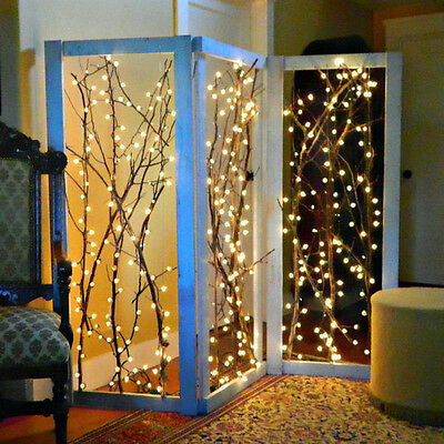 2/3/4/5/10M LED Copper Wire String Battery Operated Mini Fairy Lights 20-100LEDS