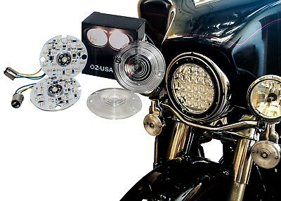 1157 LED Turn Signal for Harley Daytime Running Light Touring Amber Dual+2 Cover