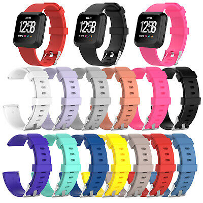 Replacement For FitBit Versa Strap Band Classic Metal Buckle Wristband Accessory