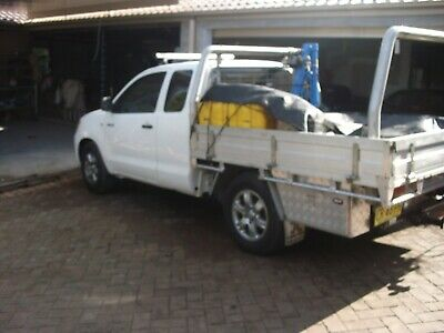 toyota hilux ute space cab tradie tip top tray trundle auto duel fuel xtra cab
