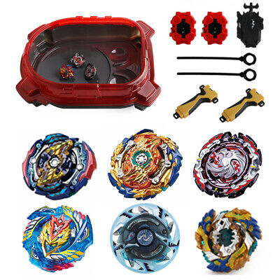 1 Set Beyblade Burst Evolution Arena Launcher Battle Stadium Spinning Top Gift
