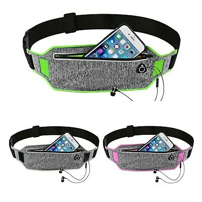 Running belt lightweight adjustable pouch bumbag phone holder