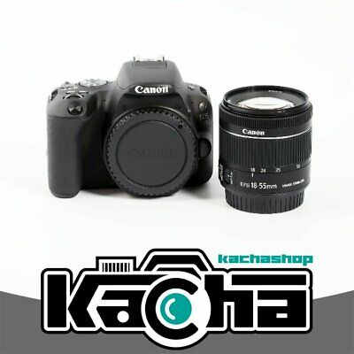 NUEVO Canon EOS 200D Camera with 18-55mm STM Lens (Black)