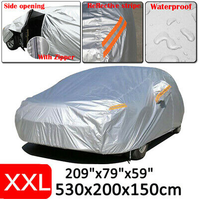 Large Car Cover Waterproof Outdoor Dust Rain UV Protection For BMW 5 7 Series M5