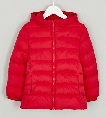 Girls  BNWT Matalan Red Lightweight Padded jacket coat age  7 8  10 11 12 (CA)