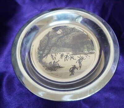 AMERICAN sterling silver dish James Wyeth 1975 183g in excellent condition -