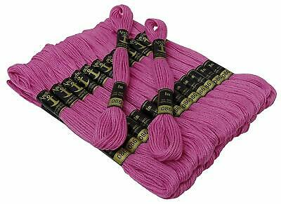 25 x 8m Anchor Dark Carnation Color #29 Cross Stitch Cotton Embroidery Floss