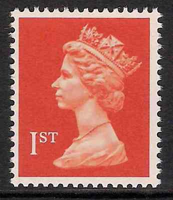 GB 1990- sg1514 1st Brt Orange-Red litho. phosphorised paper perf 15x14 MNH