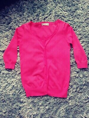 c870a54f LADIES HOT PINK Cropped Sweater from Zara, Size S - £0.99 | PicClick UK